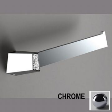 Sonia S8 Swarovski Open Towel Bar Chrome 161904